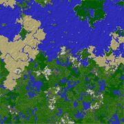 Test server spawn map