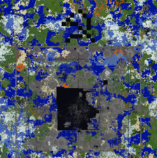 2b2t's Spawn in 2018.